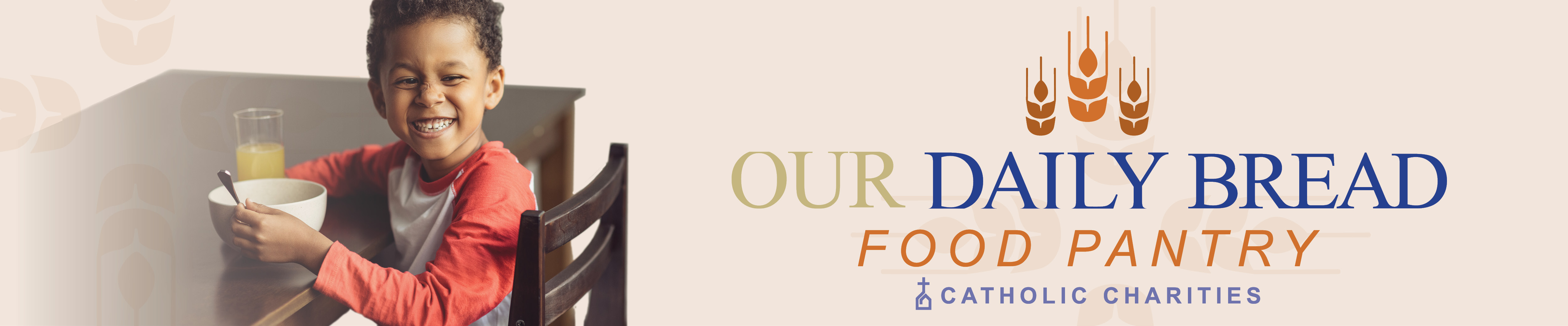 Donate to support Our Daily Bread Food Pantry at Catholic Charities