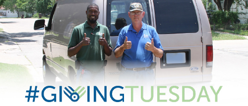 giving tuesday - richard and jerry